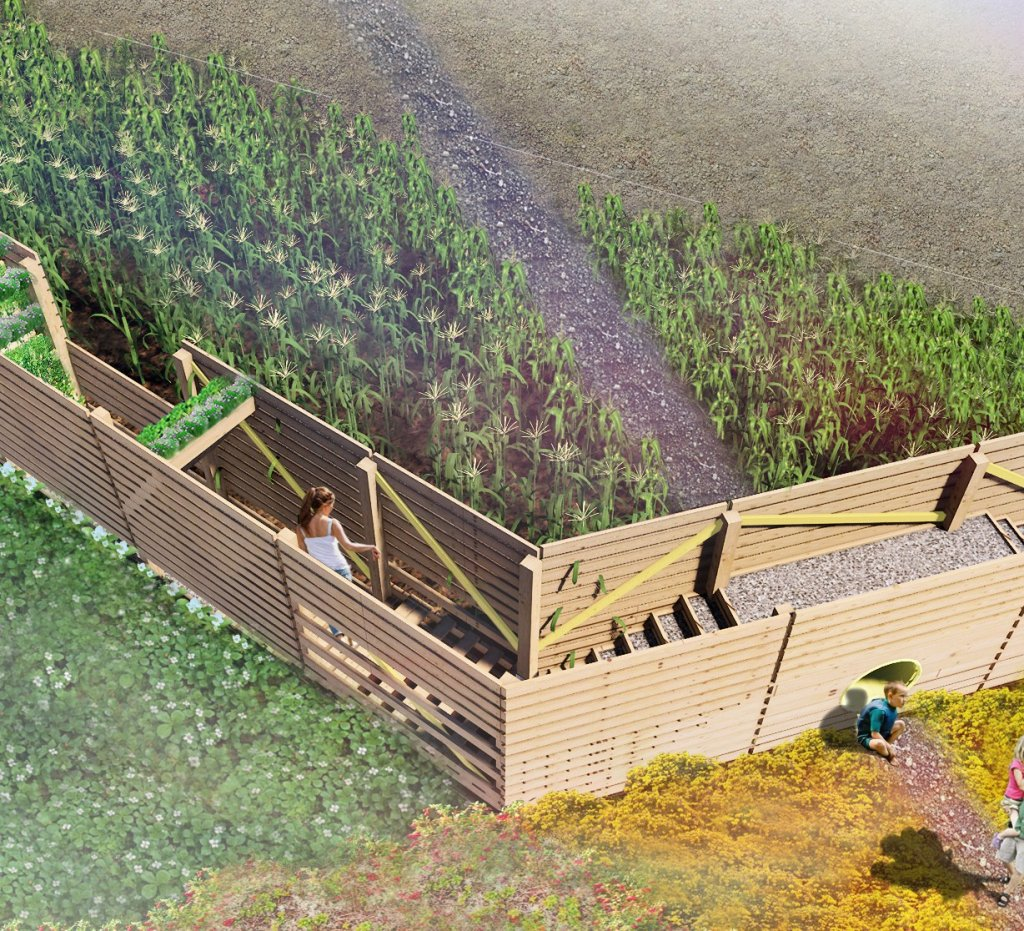 Bastion (Jardins de Métis)