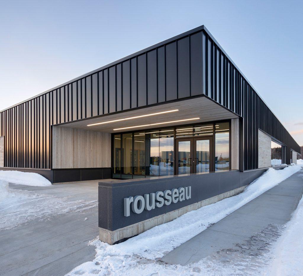 Nouvelle usine Rousseau Métal