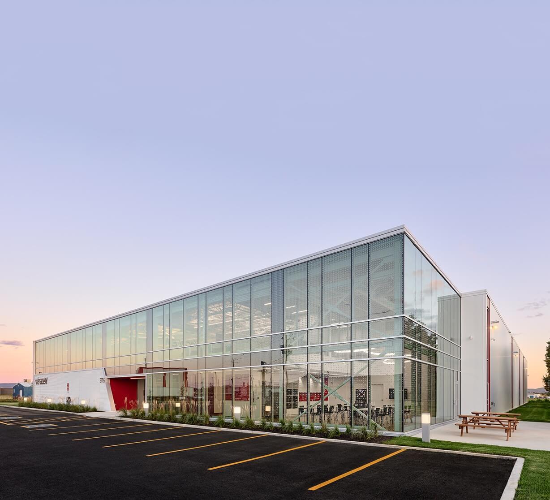Nouvelle usine Veralex – Prelco